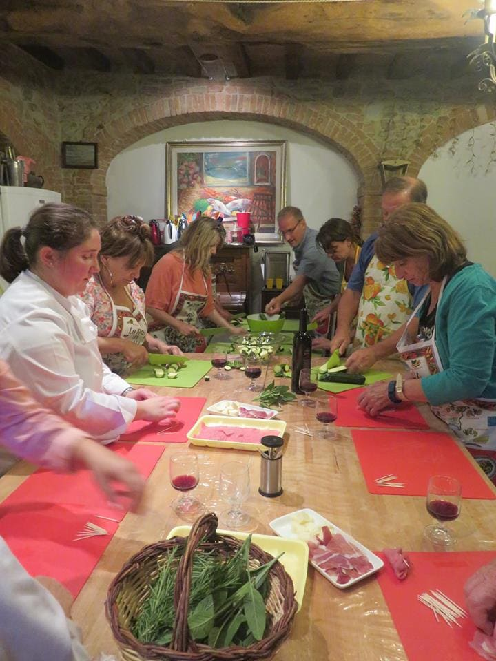 Last cooking class in Tuscany